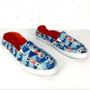 Sperry Zuma Swimmer Slip-On Shoes Blue Size 8